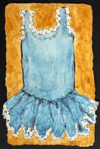 ballet dress watercolor painting  (large view)