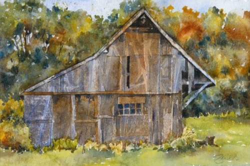 weathered barn (large view)