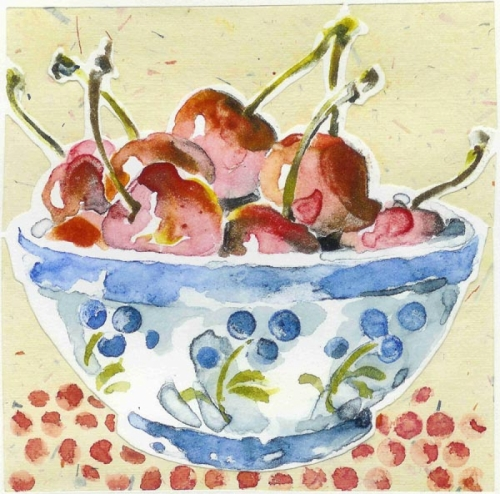 bowl of cherries (large view)