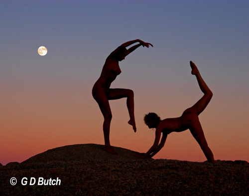 Moon Dance. by Photographs by George D Butch