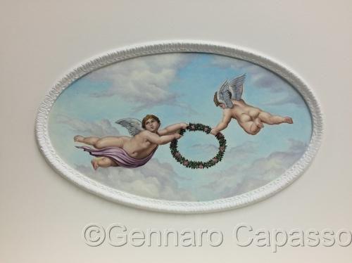 Cherubs Ceiling by Gennaro Capasso