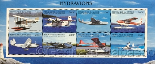 Stamps of Seaplanes