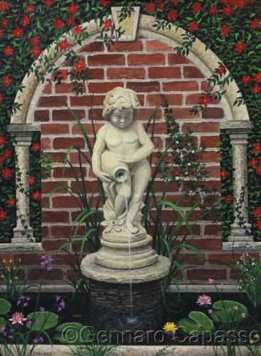 Garden Boy Fountain