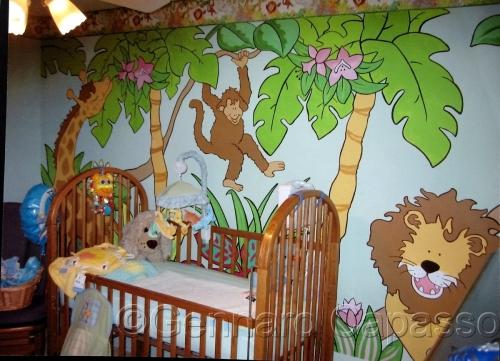 Children's Room Safari