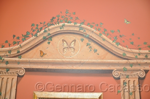 Butterfly Archway Detail