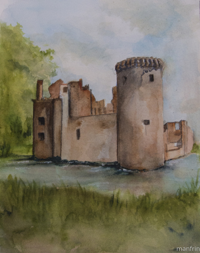 The Castle by the Pond