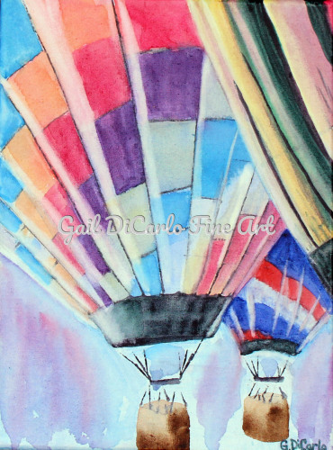 Colorful Flight by Gail DiCarlo