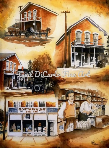 Olcott Variety Shop by Gail DiCarlo