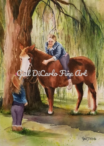 Can I Ride Too? by Gail DiCarlo