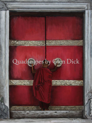 The First Step To Enlightenment by Quadscapes by Glen Dick