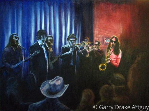 On a Mission by Garry Drake Artguy