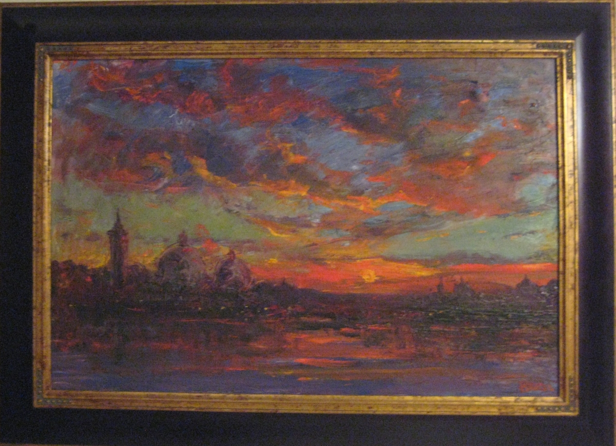 Sunset-Venezia (large view)