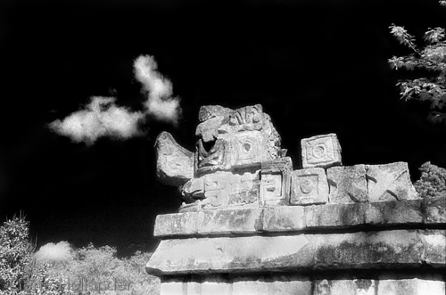 Detail, Chichen Ita (large view)