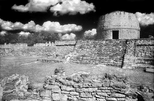 Observatory at Mayapan (large view)