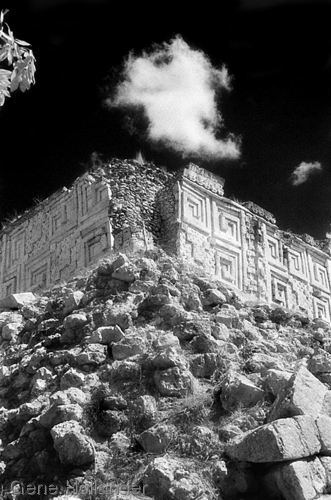 Ruins at Uxmal I (large view)