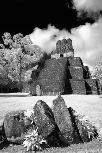 Temple No. II, Tikal, Guatemala (large view)