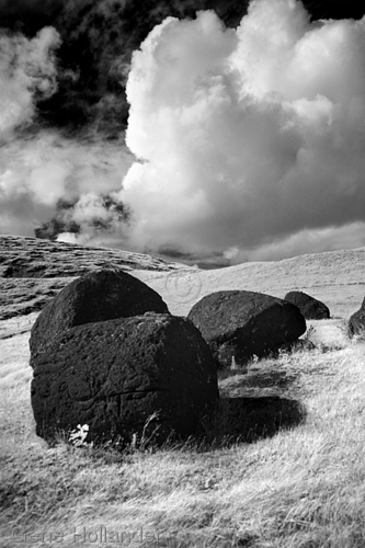Topknots IV, Easter Island (large view)