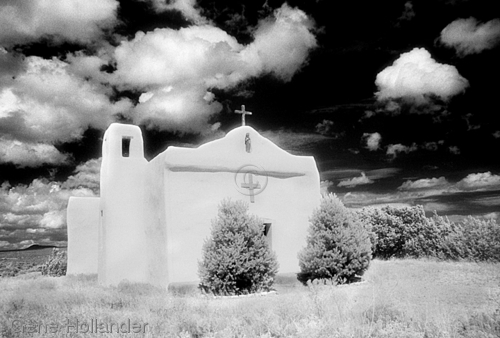 Church, Golden, New Mexico (large view)