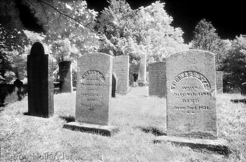 Cemetary, New England (large view)