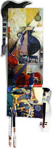 Collage of Instruments