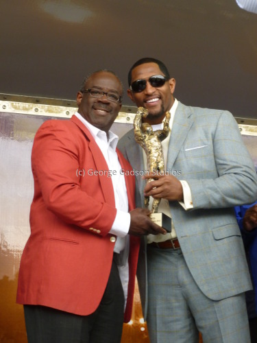 George Gadson and Super Bowl Hero Ray Lewis