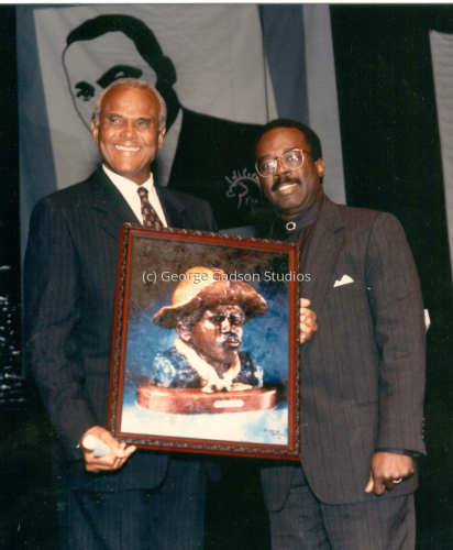 Harry Belafonte and George Gadson