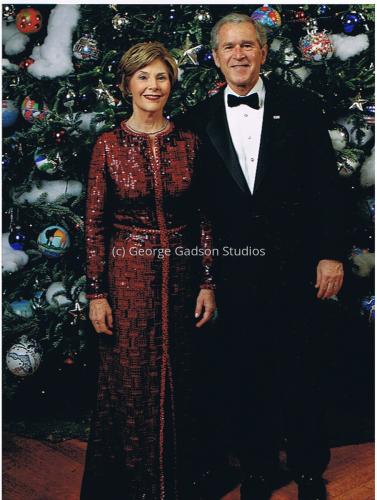 George and Laura Bush