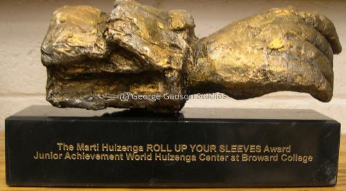 Junior Achievement Marti Huigenza Roll Up Your Sleeve Award