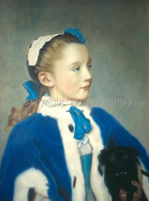 Young Princess-Liotard