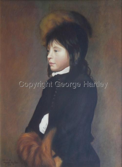A Dutch Boy- after Van Oost the Elder