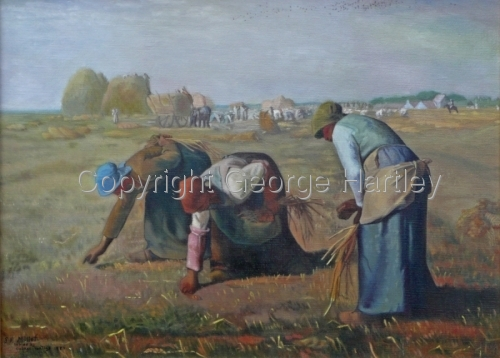 The Gleaners- after Millet