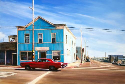 Blue House by GEORGIA PESKETT