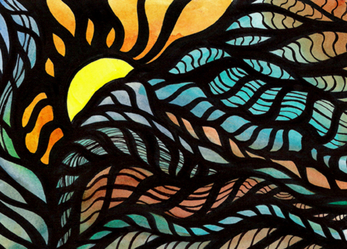 Sunrise Tapestry (large view)