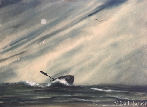 Alone by Gail Harper - Art Gallery Sayville, NY