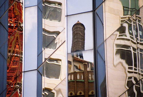 Reflections, New York by Gillian Horgan