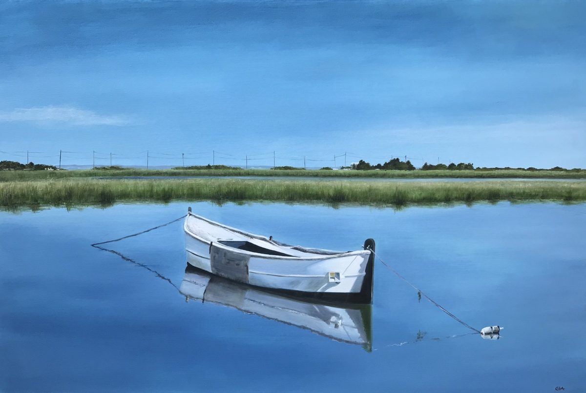 White Rowboat, Muse 2 (large view)