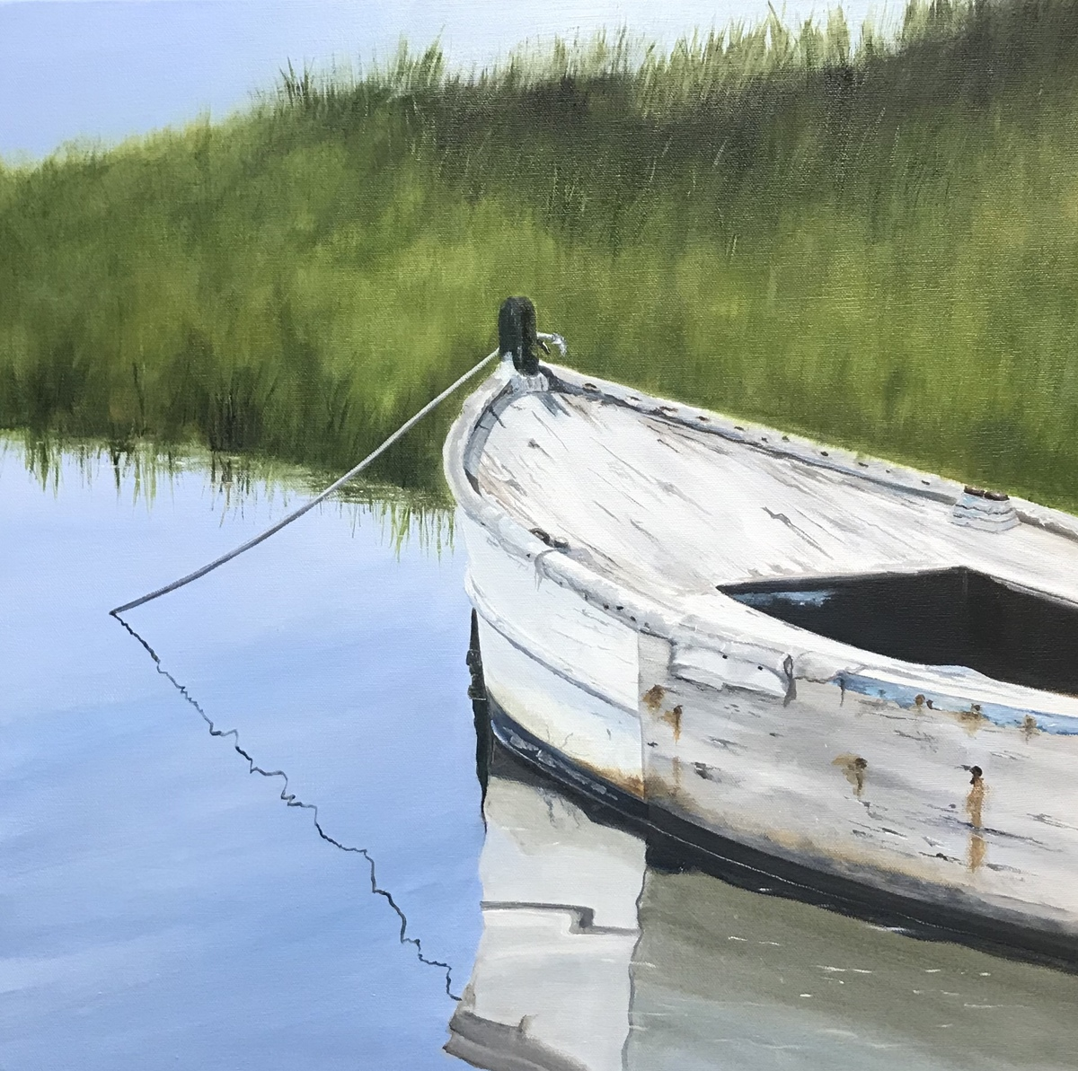 White Rowboat, Muse 3 (large view)