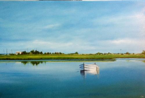 Rowboat at Towd Point
