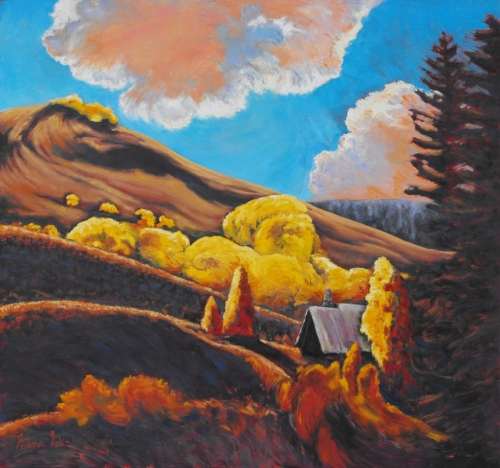 Crested Butte Retreat by Gina Grundemann, Colorado Landscape Painter