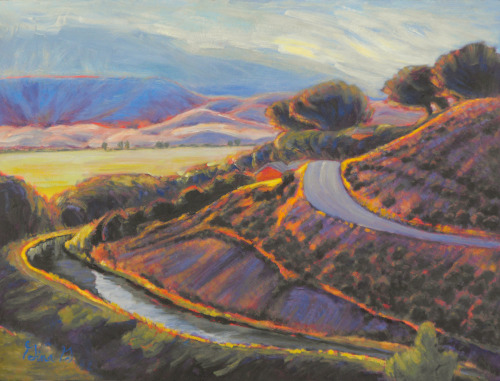 Edge of the Canal by Gina Grundemann, Colorado Landscape Painter