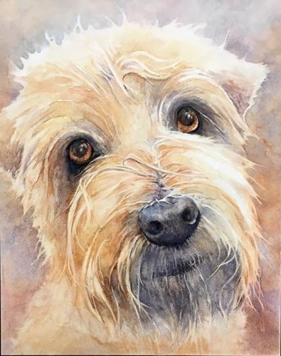 PORTRAIT OF SAMMIE by Ginny O'Neill