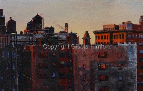 Manhattan Fugue by Gisele Nimic
