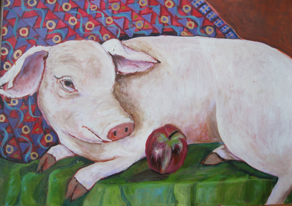 Petunia the pig (large view)