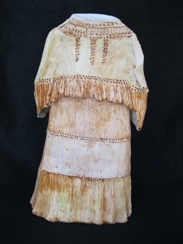 Navajo dress by Glenna Janda