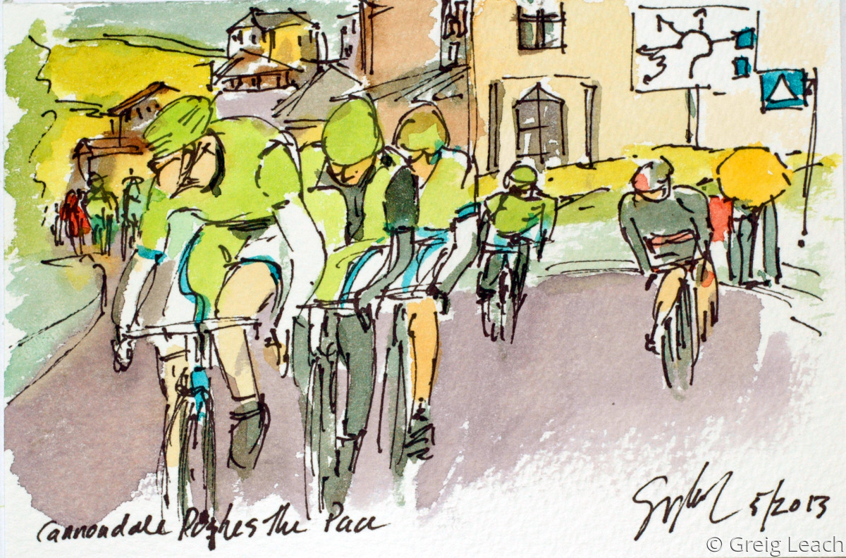 Cannondale Pushes the Pace (large view)