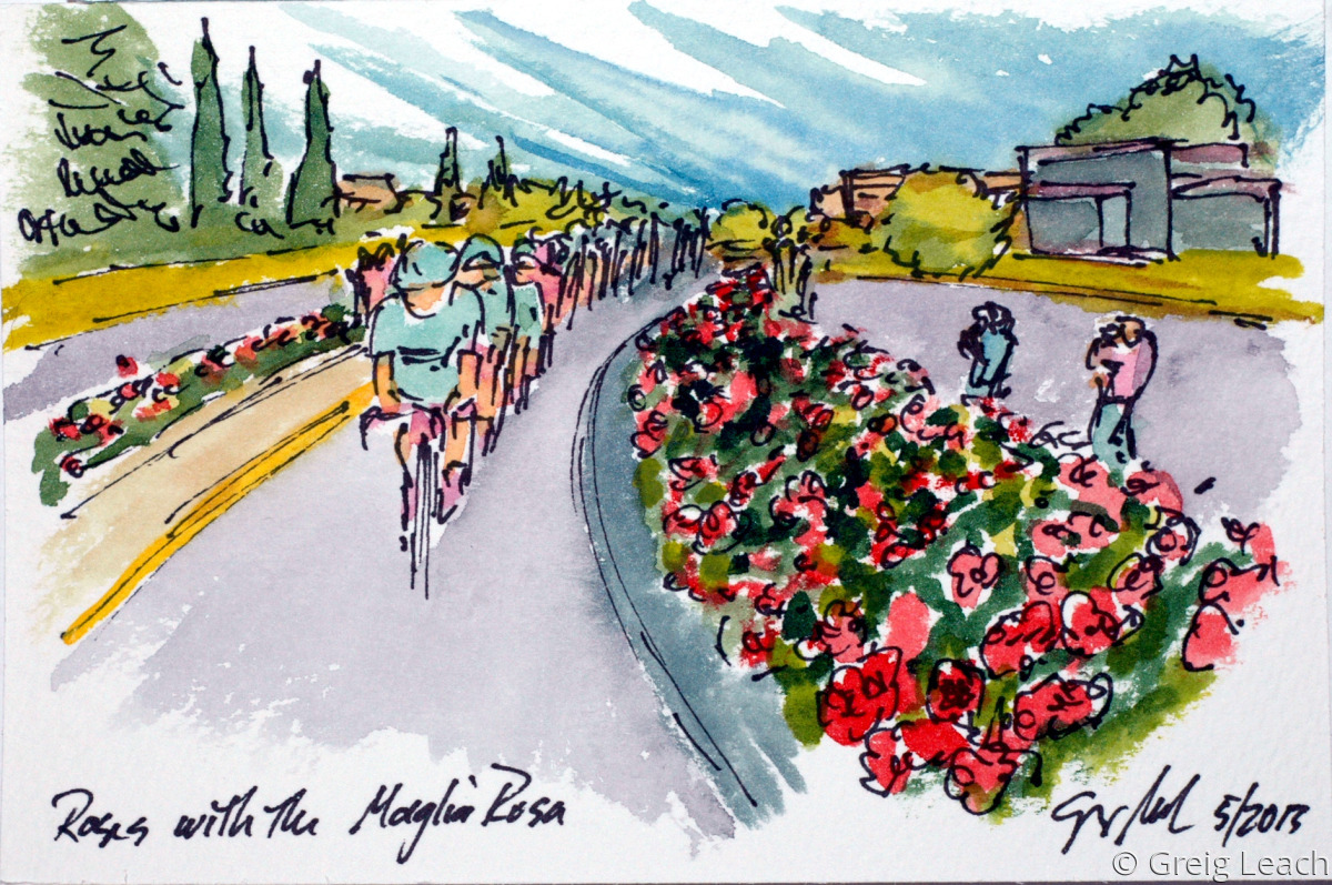 Roses with the Maglia Rosa (large view)