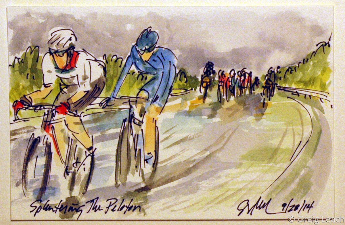 Splintering the Peloton (large view)