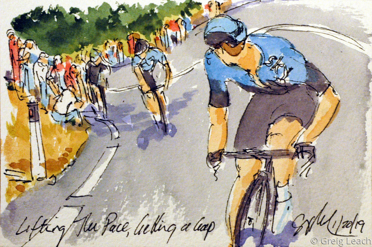 Lifting the Pace, Getting a Gap  TDU19-23 (large view)