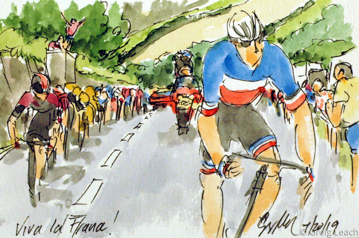 Viva la France!  TDF19-79 (large view)
