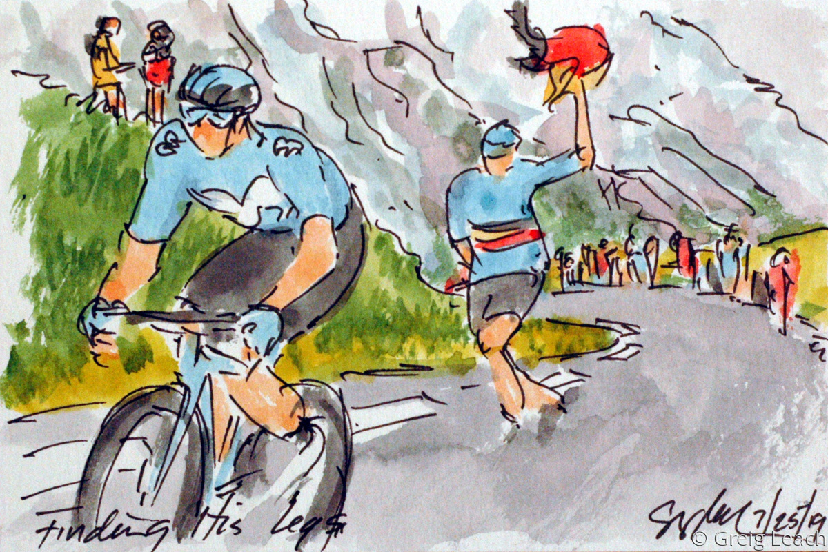 Finding His Legs  TDF19-100 (large view)